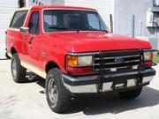 1989 FORD bronco Ford Bronco 4x4 Eddie Bauer Edition